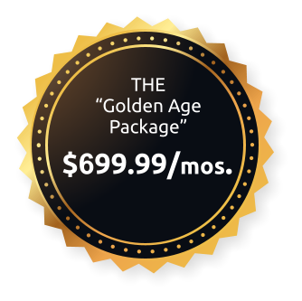 the golden age package logo
